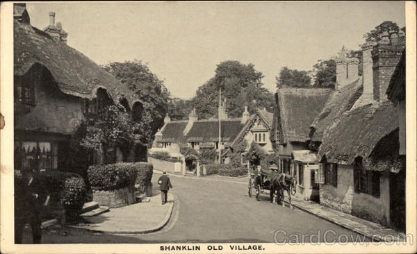 Shanklin Old Village England