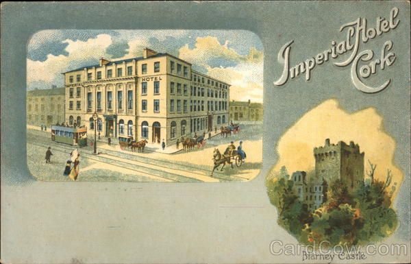 Imperial Hotel in Cork, with Blarney Castle Nearby Ireland