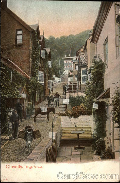 High Street Clovelly England