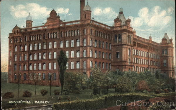 Coats' Mill Paisley Scotland