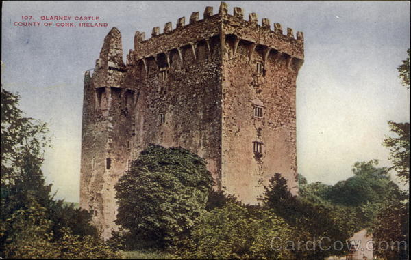 Blarney Castle in the County of Cork, Ireland