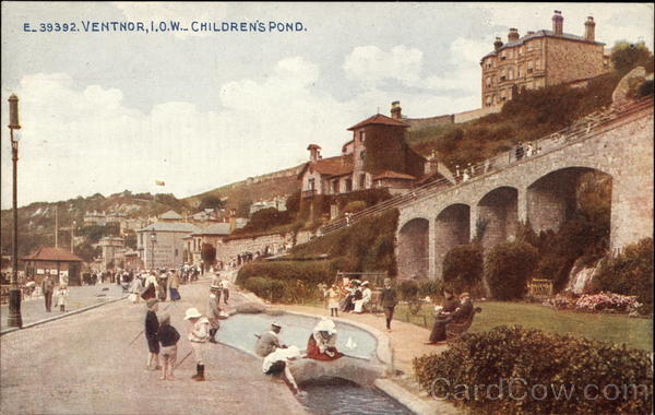 Children's Pond - Isle of Wight Ventnor City England