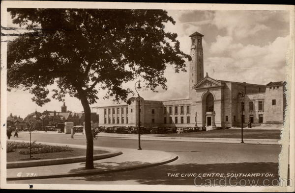 The Civic Centre Southampton England Hampshire
