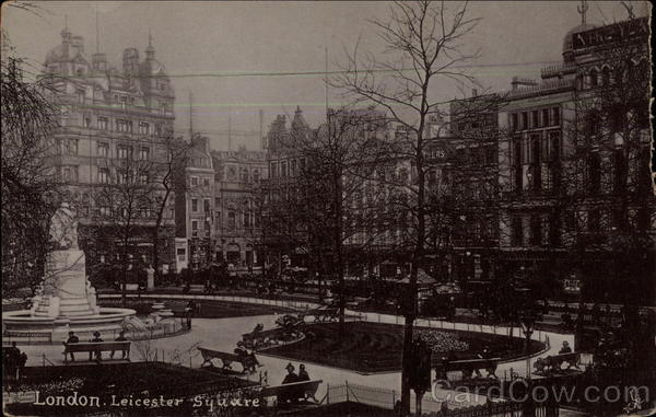 Leicester Square London England