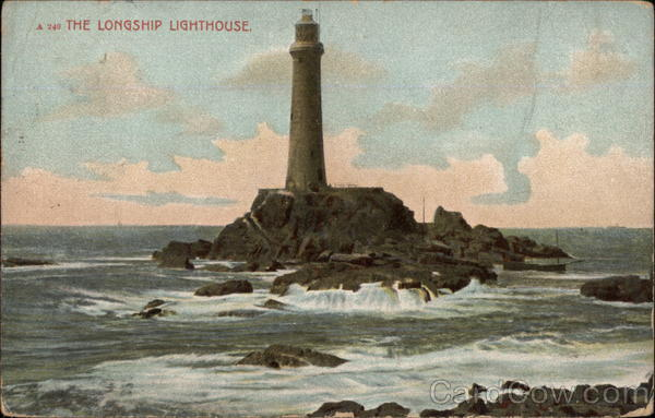 The Longship Lightouse Longships England
