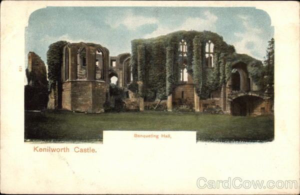 Kenilworth Castle - Banqueting Hall England