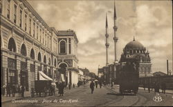 Constantinople. Place de Top-Hané