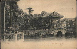 Part of Chinese Garden Postcard