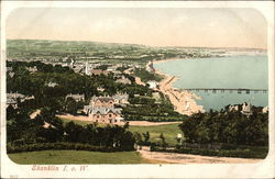 View over Town and Bay - Isle of Wight