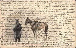 French Soldier & Horse