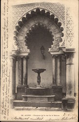 Fountain on the Rue de la Marine in Algiers