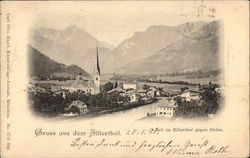 Greetings from Zillerthal, With View to the South