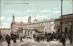 Central Station and Ranleigh Street Postcard