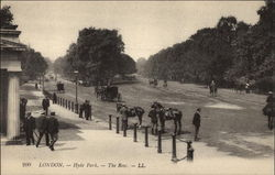 The Row at Hyde Park in London