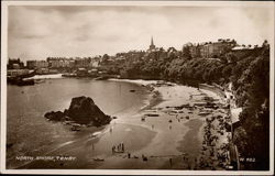 View of Tenby from the North Shore