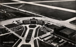 Aerial View of Dublin Airport