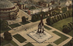 Albert Hall and Memorial from the Air