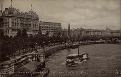 Cecil and Savoy Hotels, Thames Embankment