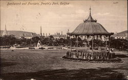 Bandstand and Fountain, People's Park