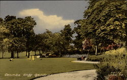 Coombe Cliff Gardens Postcard