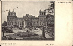 Blenheim Palace and Formal Gardens Postcard