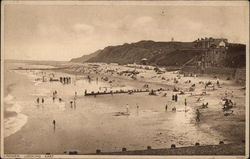 The Beach at Cromer, England, Looking East