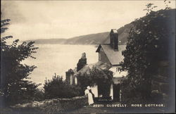 Rose Cottage Postcard