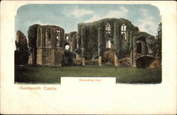 Kenilworth Castle - Banqueting Hall