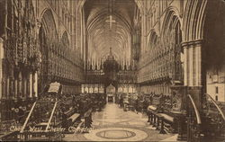 Chester Cathedral, Choir - West