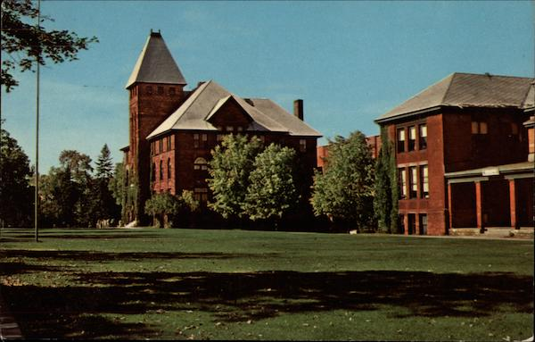 Administration Building and Campus, Michigan College of Mining and Technology Houghton