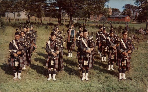 Royal Canadian Air Force Pipe Band Maxville Canada