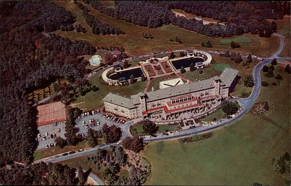 Aerial View of Hotel Hershey Pennsylvania