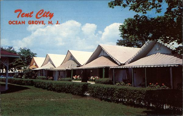 Tent City Ocean Grove Nj