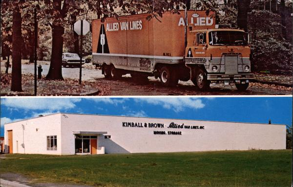 Kimball & Brown Moving & Storage Co Manchester New Hampshire