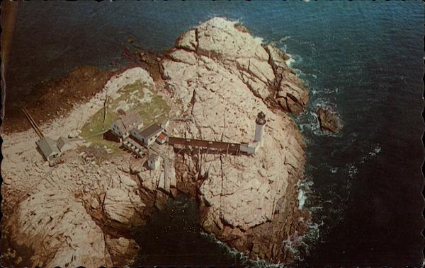 Aerial View of White Island New Hampshire