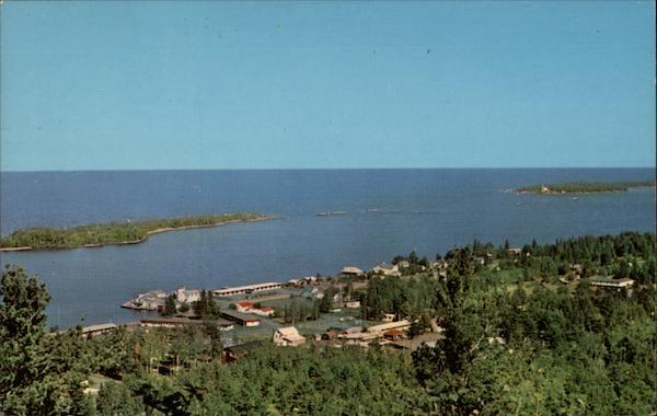 Copper Harbor as Viewed from Brockway Drive Michigan