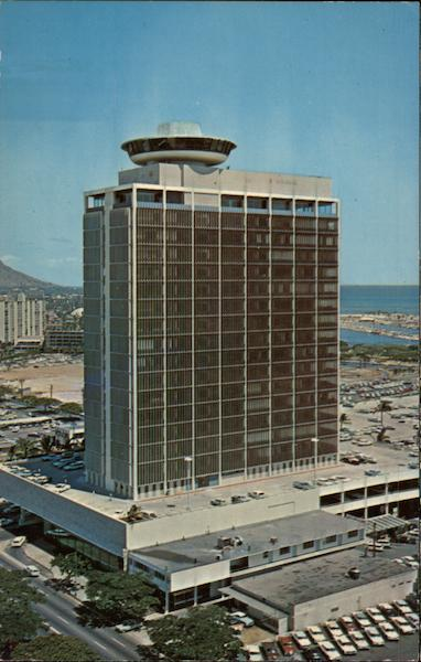 La Ronde Revolving Restaurant Honolulu Hawaii Camera Hawaii