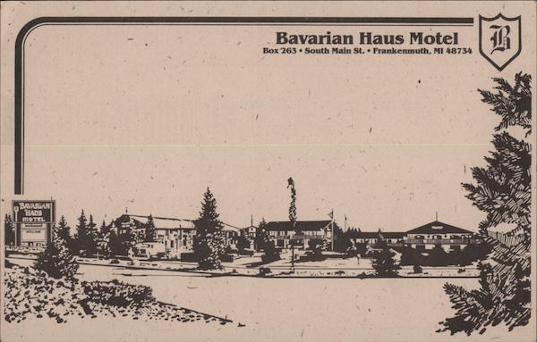 Bavarian Haus Motel Frankenmuth Michigan