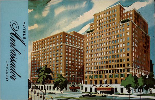 hotels ambassador east and west chicago il. Black Bedroom Furniture Sets. Home Design Ideas