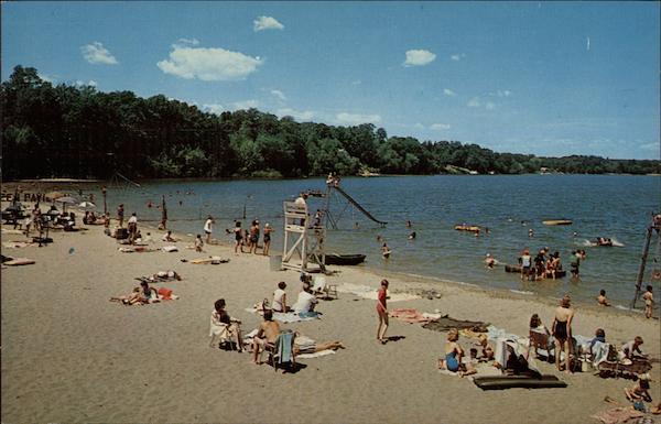 Beach scene lake ronkonkoma long island ny for Freshwater fishing long island