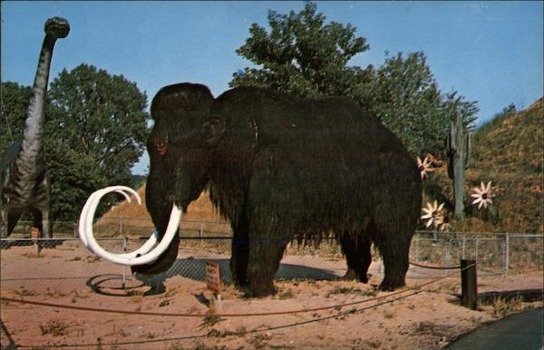 Prehistoric Elephant, Prehistoric Forest Onsted Michigan