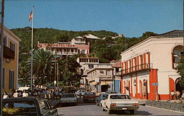 Post Office Square in Charlotte Amalie St. Thomas U.S. Virgin Islands