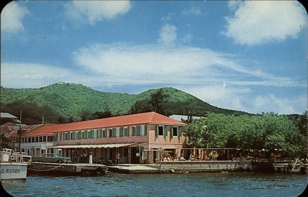 King Christian Restaurant and Apartments, St. Croix Christiansted Harbor Virgin Islands