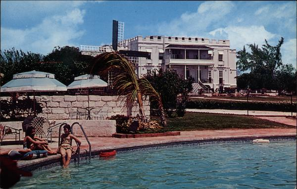 Sam Lord's Castle, with swimming pool St. Philip Barbados