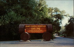 Henry Cowell Redwoods State Park Entrance
