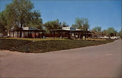 Shaded Refreshment Center Camanche Lake Park Postcard