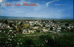 Bird's Eye view of San Juan Bautista