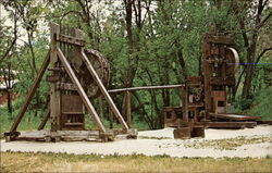 Old Gold Mining Equipment, Marshall Gold Discovery State Park