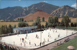 Olympic Size Skating Rink