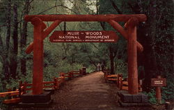 Entrance, Muir Woods National Monument